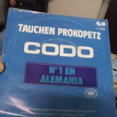 Discos de vinilo: CODO. Lote 244773680
