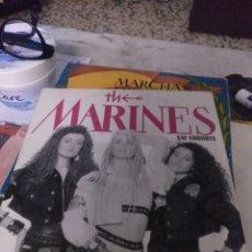Discos de vinilo: THE MARINES. Lote 244774530