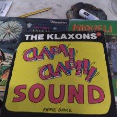 Discos de vinilo: THE CLAXONS. Lote 244775015