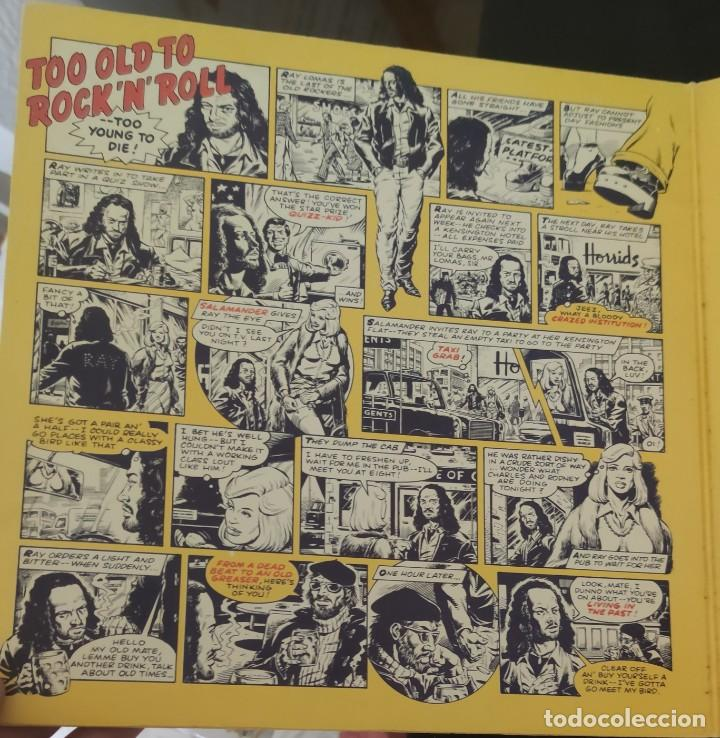 Discos de vinilo: JETHRO TULL-TOO OLD TO ROCK NROLL:TOO YOUNG TO DIE-LP SPAIN 1976. - Foto 4 - 244775400
