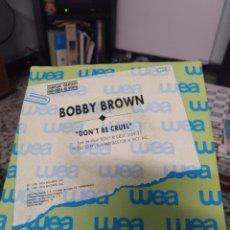 Discos de vinilo: BOBBY BROWN. Lote 244775530