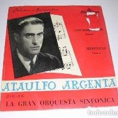 Discos de vinilo: ATAULFO ARGENTINA PRELUDIOS E INTERMEDIOS. Lote 244775720