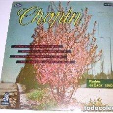 Discos de vinilo: CHOPIN PIANISTA: GYÖRGY SEBÖK. Lote 244777090