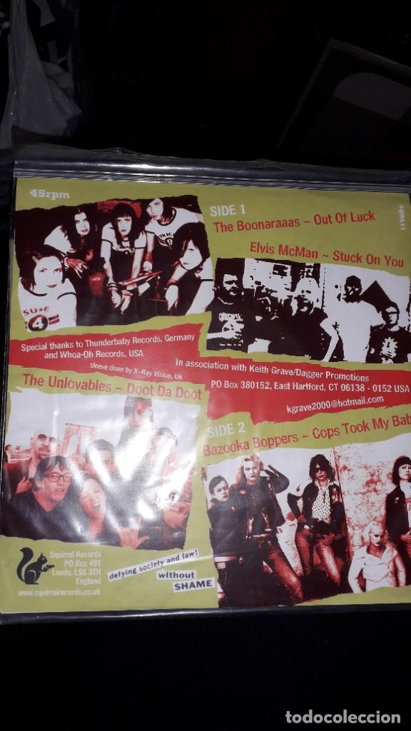 "Discos de vinilo: E.P. 7"" 45 RPM - TEENAGE CRIME WAVE (various-Garage Punk Rock-Squirrel Records) - Foto 2 - 244782430"