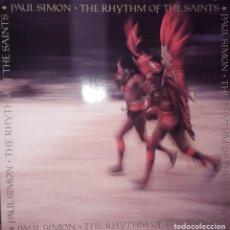 Discos de vinilo: L.P. PAUL SIMON - THE RHYTHM OF THE SAINTS (1990). Lote 244782725