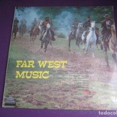 Discos de vinilo: FAR WEST MUSIC - MUSICA DEL OESTE - DOBLE LP PRECINTADO - COUNTRY FOLK. Lote 244792255