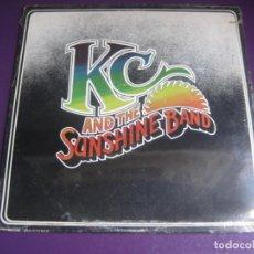 Disques de vinyle: KC AND THE SUNSHINE BAND - LP TK RECORDS 1975 EDICION USA - DISCO FUNK 70'S CLASICO - SIN USO. Lote 244796575