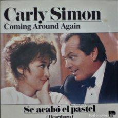Discos de vinilo: CARLY SIMON//COMING AROUND AGAIN//BSO//1986//ARISTA. Lote 244796615