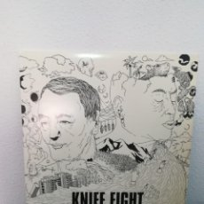 Discos de vinilo: LP DIFÍCIL, KNIFE FIGHT - CRISIS, ALBUM,RED LABEL ,EEUU 2007, INSERT, BUEN ESTADO PUNK. Lote 244800240