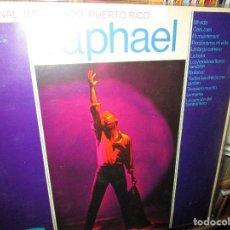 Discos de vinilo: RAPHAEL ( PUERTO RICO ) MI VIDA / ET MAINTENANT / UN LARGO CAMINO / VER FOTO ADICIONAL. Lote 244802305