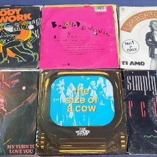 Disques de vinyle: LOTE 30 SINGLES 7 PULGADAS. Lote 244810780