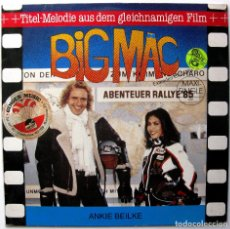 Discos de vinilo: ANKIE BEILKE - BIG MÄC - MAXI IMP 1985 GERMANY SYNTH-POP BPY. Lote 244813860