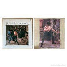 Discos de vinilo: VINILO EDICIÓN JAPONESA DEL DOBLE LP DE LA BSO ENTER THE DRAGON DE BRUCE LEE ¡ LEER DESCRIPCIÓN ¡. Lote 244819375