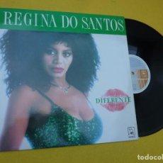 Discos de vinilo: LP REGINA DO SANTOS - DIFERENTE - SPAIN PRESS - HORUS – 41083 (M-/M-) 5. Lote 244819420