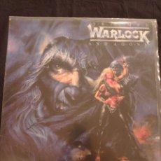 Discos de vinilo: WARLOCK- TRIUMPH AND AGONY - LP. Lote 244819610