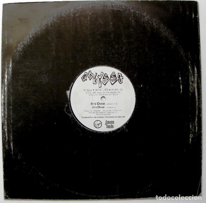 Discos de vinilo: Anbessa - Tracks Of My Tears / Its Over - Maxi Jam Lab 1993 Suecia BPY - Foto 2 - 244820145
