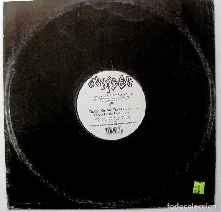ANBESSA - TRACKS OF MY TEARS / IT'S OVER - MAXI JAM LAB 1993 SUECIA BPY (Música - Discos de Vinilo - Maxi Singles - Reggae - Ska)