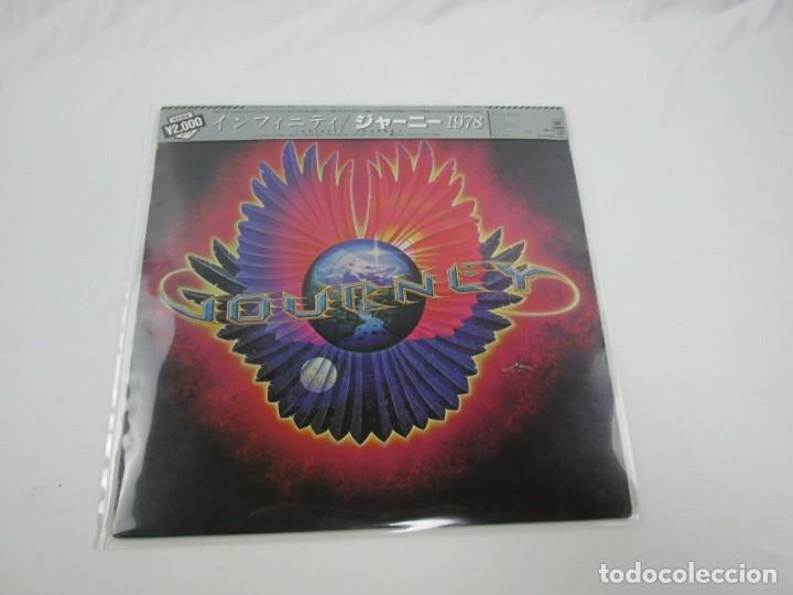VINILO EDICIÓN JAPONESA DEL LP DE JOURNEY - INFINITY - PRETENDERS (Música - Discos - LP Vinilo - Pop - Rock - New Wave Internacional de los 80)