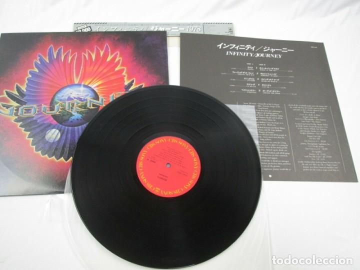 Discos de vinilo: VINILO EDICIÓN JAPONESA DEL LP DE JOURNEY - INFINITY - PRETENDERS - Foto 4 - 244822205