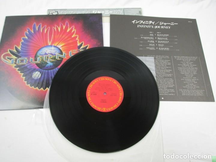 Discos de vinilo: VINILO EDICIÓN JAPONESA DEL LP DE JOURNEY - INFINITY - PRETENDERS - Foto 5 - 244822205