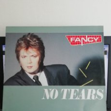 Discos de vinilo: RAR MAXI 12. FANCY. NO TEARS. 3 TRACKS. ITALO DISCO. MADE IN SPAIN. Lote 244823525