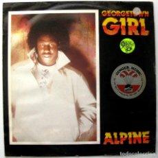 Discos de vinilo: ALPINE - GEORGETOWN GIRL - MAXI THE HIVE 1985 UK BPY. Lote 244824840