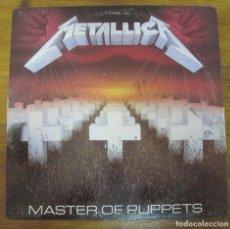 Discos de vinilo: METALLICA, MASTER OF PUPPETS 1989. Lote 244825650