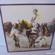 Discos de vinilo: SANGRITA. CRAB EDICIONES MUSICALES. LP VINILO. 1988. CBS RECORDS.. Lote 244828475