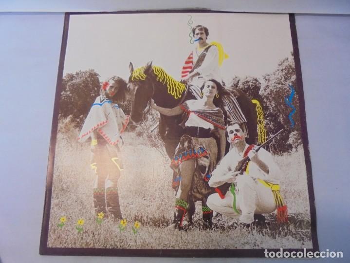 Discos de vinilo: SANGRITA. CRAB EDICIONES MUSICALES. LP VINILO. 1988. CBS RECORDS. - Foto 2 - 244828475