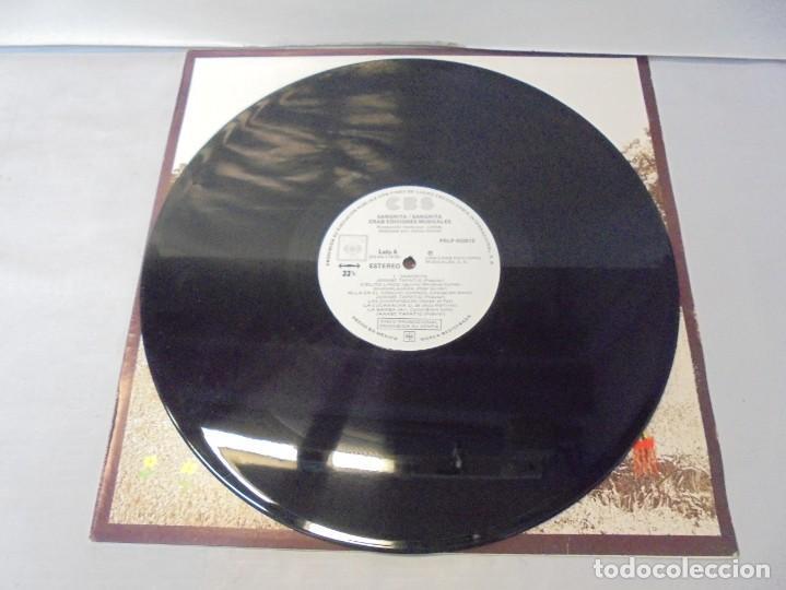 Discos de vinilo: SANGRITA. CRAB EDICIONES MUSICALES. LP VINILO. 1988. CBS RECORDS. - Foto 3 - 244828475