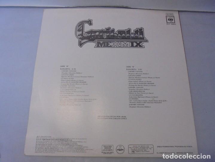 Discos de vinilo: SANGRITA. CRAB EDICIONES MUSICALES. LP VINILO. 1988. CBS RECORDS. - Foto 7 - 244828475