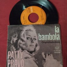 Disques de vinyle: PATTY PRAVO SINGLE GERMANY RCA LA BAMBOLA VER FOTOS. Lote 244833160