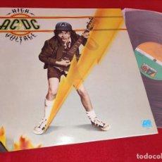 Discos de vinilo: AC/DC ACDC HIGH VOLTAGE LP 1982 ATLANTIC ESPAÑA SPAIN EXCELENTE ESTADO. Lote 244834355