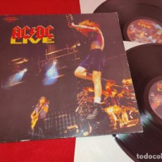Discos de vinilo: AC/DC ACDC LIVE DIRECTO 2LP 1992 ATCO ALEMANIA GERMANY GATEFOLD. Lote 244834790