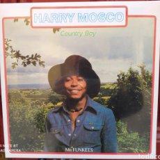Discos de vinilo: HARRY MOSCO–COUNTRY BOY (MR. FUNKEES) . LP VINILO PRECINTADO. REGGAE - FUNK. NIGERIA.. Lote 244835675
