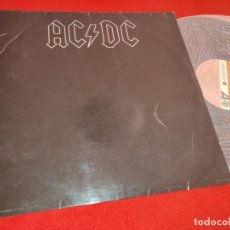 Discos de vinil: ACDC AC/DC BACK IN BLACK LP 1980 ATLANTIC ESPAÑA SPAIN. Lote 244835885