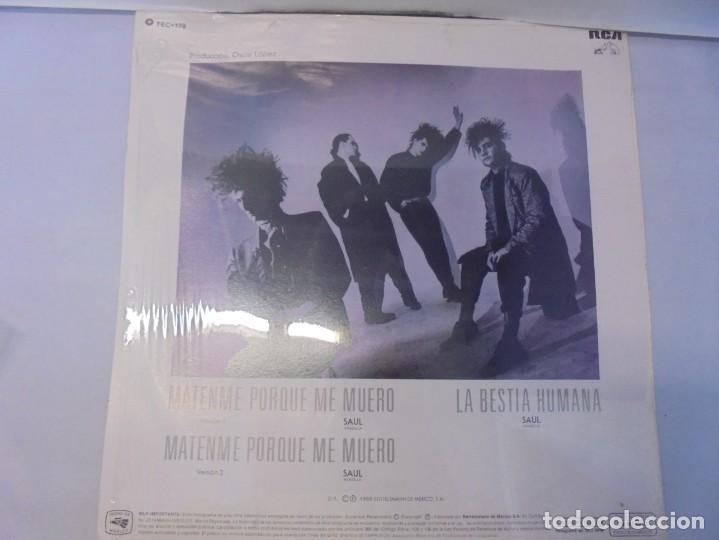 Discos de vinilo: CAIFANES. SINGLE VINILO. RCA VICTOR. 1988. EDICION LIMITADA. BERTELSMANN DE MEXICO. - Foto 7 - 244844390