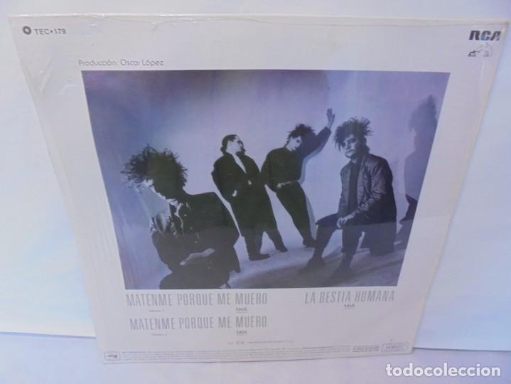 Discos de vinilo: CAIFANES. SINGLE VINILO. RCA VICTOR. 1988. EDICION LIMITADA. BERTELSMANN DE MEXICO. - Foto 10 - 244844390
