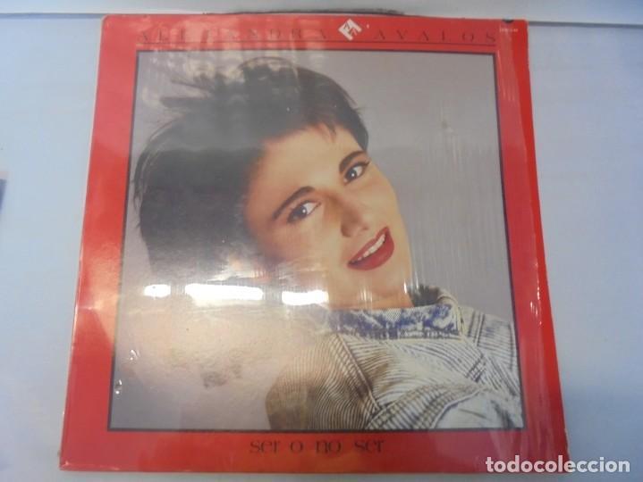 ALEJANDRA AVALOS. SER O NO SER. LP VINILO. PRODUCCIONES WEA 1988. (Música - Discos - LP Vinilo - Pop - Rock - New Wave Internacional de los 80)