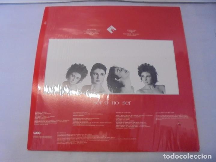 Discos de vinilo: ALEJANDRA AVALOS. SER O NO SER. LP VINILO. PRODUCCIONES WEA 1988. - Foto 6 - 244844795