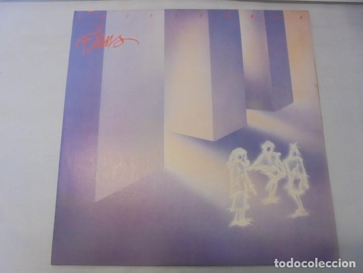 Discos de vinilo: FLANS. LUZ Y SOMBRA. LP VINILO. PRODUCCION MUSICAL MILDRED VILLAFAÑE MELODY INTERNACIONAL 1987 - Foto 2 - 244845550