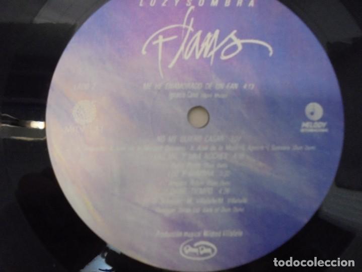 Discos de vinilo: FLANS. LUZ Y SOMBRA. LP VINILO. PRODUCCION MUSICAL MILDRED VILLAFAÑE MELODY INTERNACIONAL 1987 - Foto 6 - 244845550