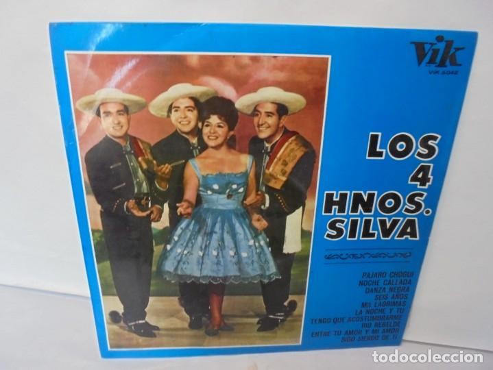 LOS 4 HNOS. SILVA. LP VINILO. DISCOGRAFICA RCA ESPAÑOLA. 1968 (Música - Discos - LP Vinilo - Grupos y Solistas de latinoamérica)