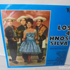 Discos de vinilo: LOS 4 HNOS. SILVA. LP VINILO. DISCOGRAFICA RCA ESPAÑOLA. 1968. Lote 244846795