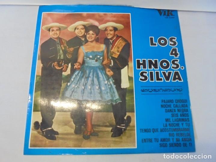 Discos de vinilo: LOS 4 HNOS. SILVA. LP VINILO. DISCOGRAFICA RCA ESPAÑOLA. 1968 - Foto 2 - 244846795