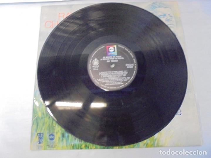 Discos de vinilo: RAY CHARLES. A MESSAGE FROM THE PEOPLE. LP VINILO. HISPAVOX 1972. - Foto 3 - 244847235