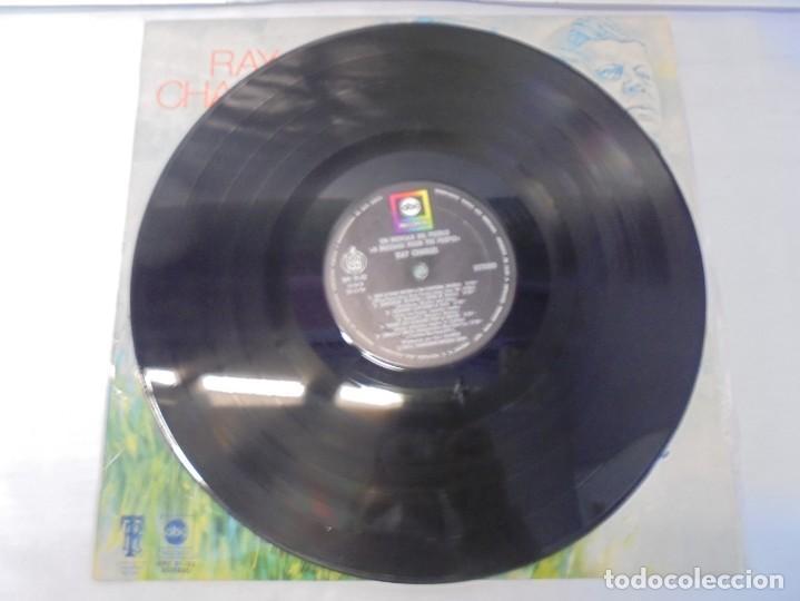 Discos de vinilo: RAY CHARLES. A MESSAGE FROM THE PEOPLE. LP VINILO. HISPAVOX 1972. - Foto 5 - 244847235