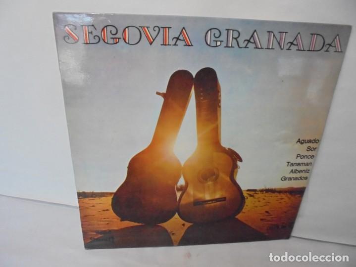 SEGOVIA GRANADA. LECCIONES PARA GUITARRA. AGUADO.SOR.PONCE.. LP VINILO. MCA RECORDS 1970 (Música - Discos - LP Vinilo - Otros estilos)