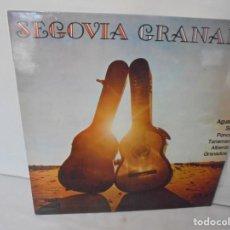 Discos de vinilo: SEGOVIA GRANADA. LECCIONES PARA GUITARRA. AGUADO.SOR.PONCE.. LP VINILO. MCA RECORDS 1970. Lote 244847580