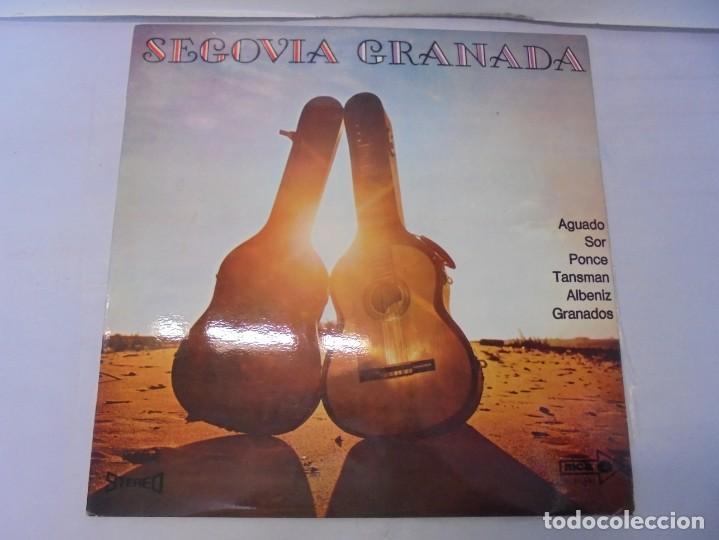 Discos de vinilo: SEGOVIA GRANADA. LECCIONES PARA GUITARRA. AGUADO.SOR.PONCE.. LP VINILO. MCA RECORDS 1970 - Foto 2 - 244847580